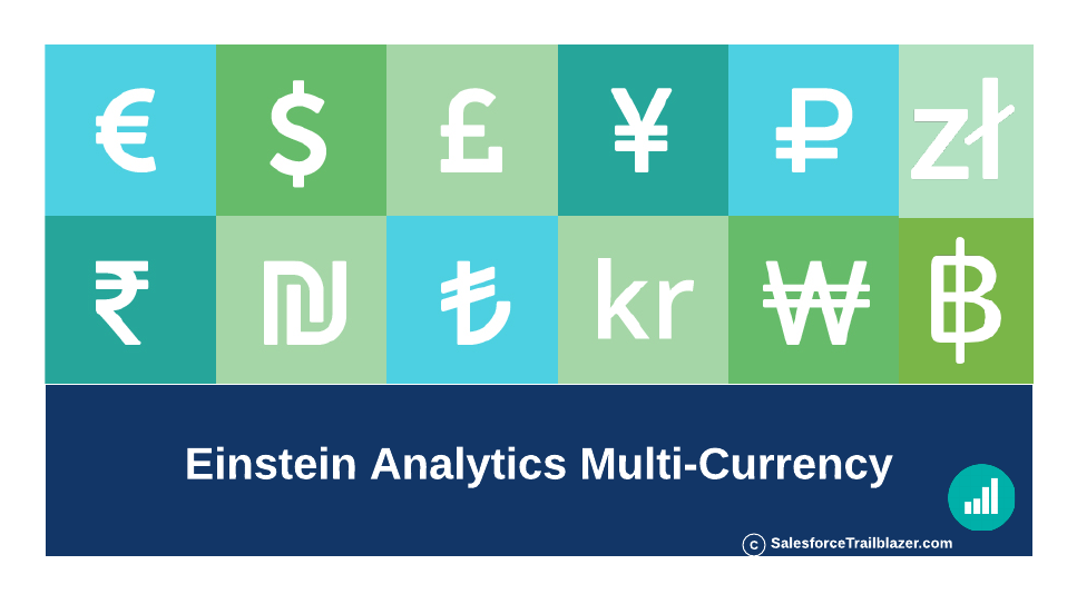 Einstein Analytics Multicurrency - Salesforce-Trailblazer